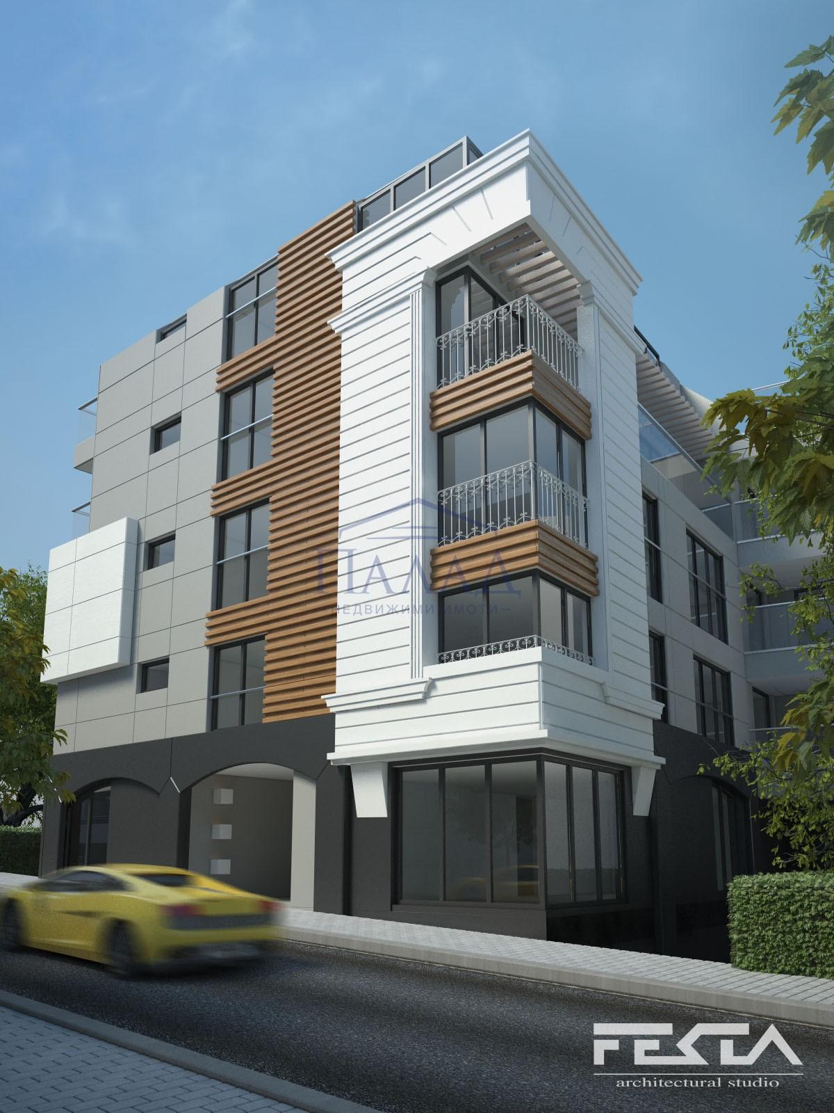 Тристаен апартамент Център