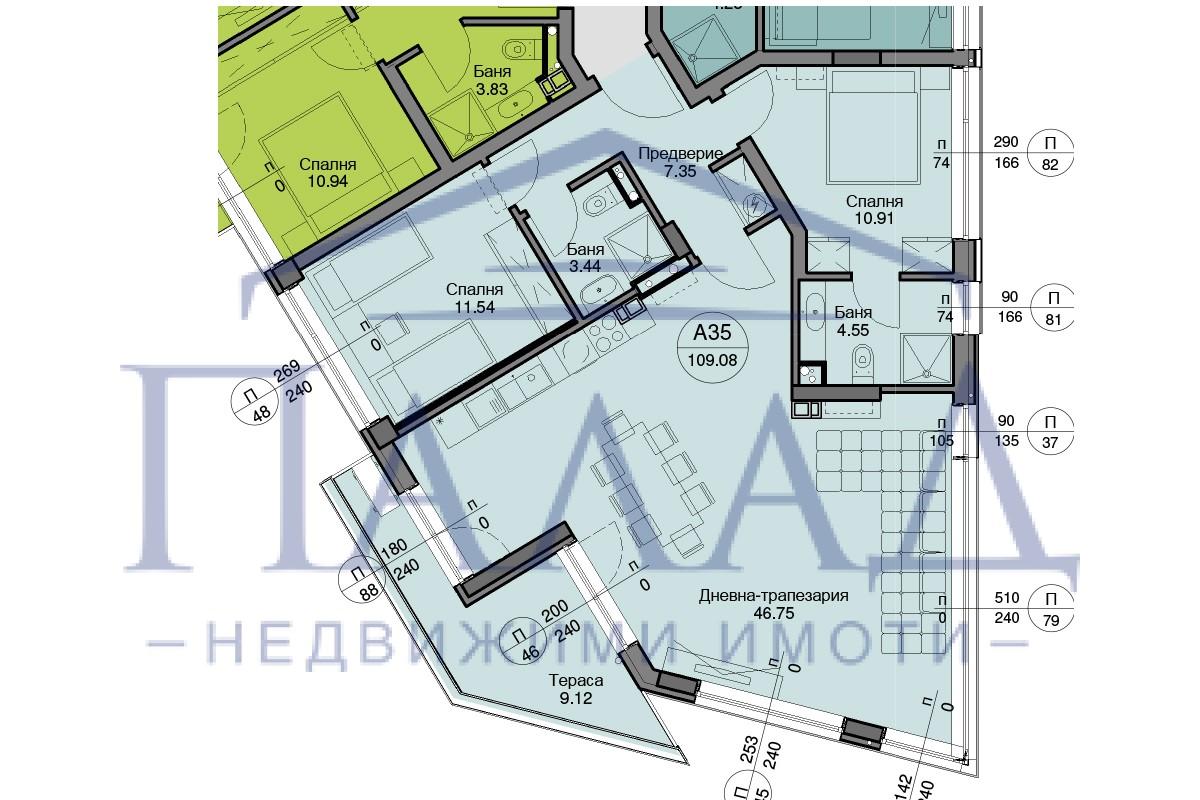 Ново строителство! Тристаен апартамент Левски
