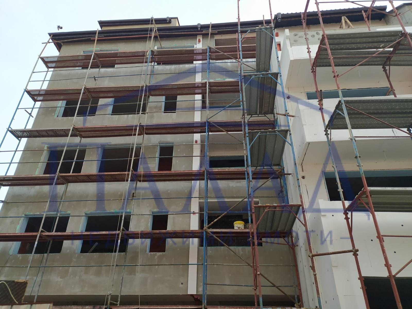 Двустаен ново строителство в Цветен квартал
