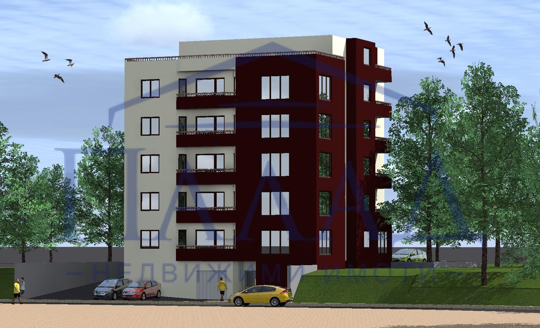 панорамен тристаен в нова сграда